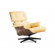 Кресло Eames Lounge Chair Beige