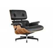 Кресло Eames Lounge Chair Black