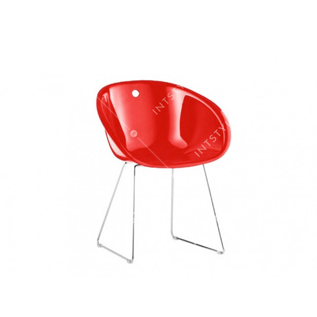 Кресло Gliss Sled Chair Red Арт.: CAT-05048